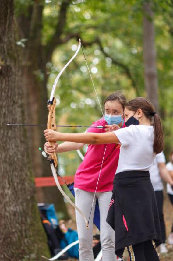 Treći Dečji festival Oplenac, deca se oprobala u streljaštvu. Foto: ustupljena fotografija/Nenad Jakovljević