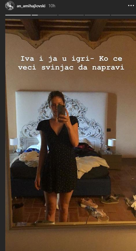 Ana Mihajlovski u Italiji