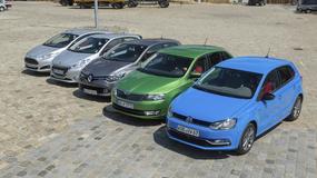 VW Polo kontra Ford Fiesta, Peugeot 208, Renault Clio i Skoda Rapid | Test