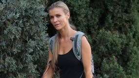 Joanna Krupa przyłapana podczas treningu. Tak modelka dba o formę