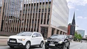 Używane crossovery: Mitsubishi ASX kontra Nissan Qashqai