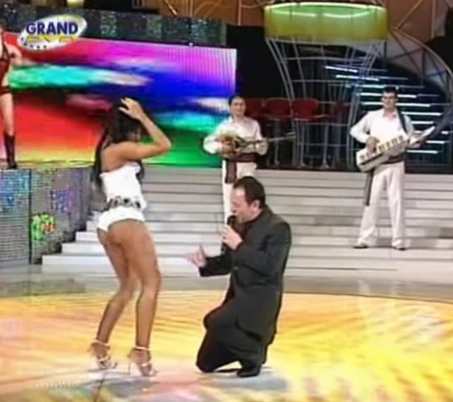 Sandra Afrika i Mile Kitić
