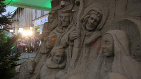 W Gdańsku powstała 3,5 metrowa szopka z piasku