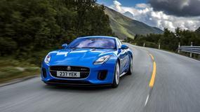 Jaguar F-Type 2.0 i4 Turbo - przycinanie pazurków