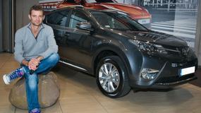 Mariusz Fyrstenberg wybiera Toyotę RAV4