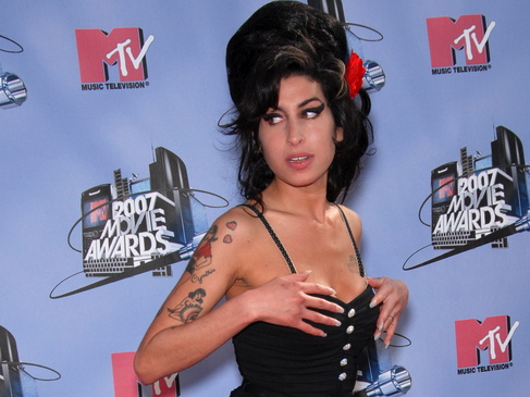Amy Winehouse portret intymny