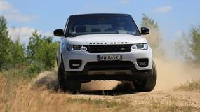 Range Rover Sport 5.0 S/C - moc i maniery