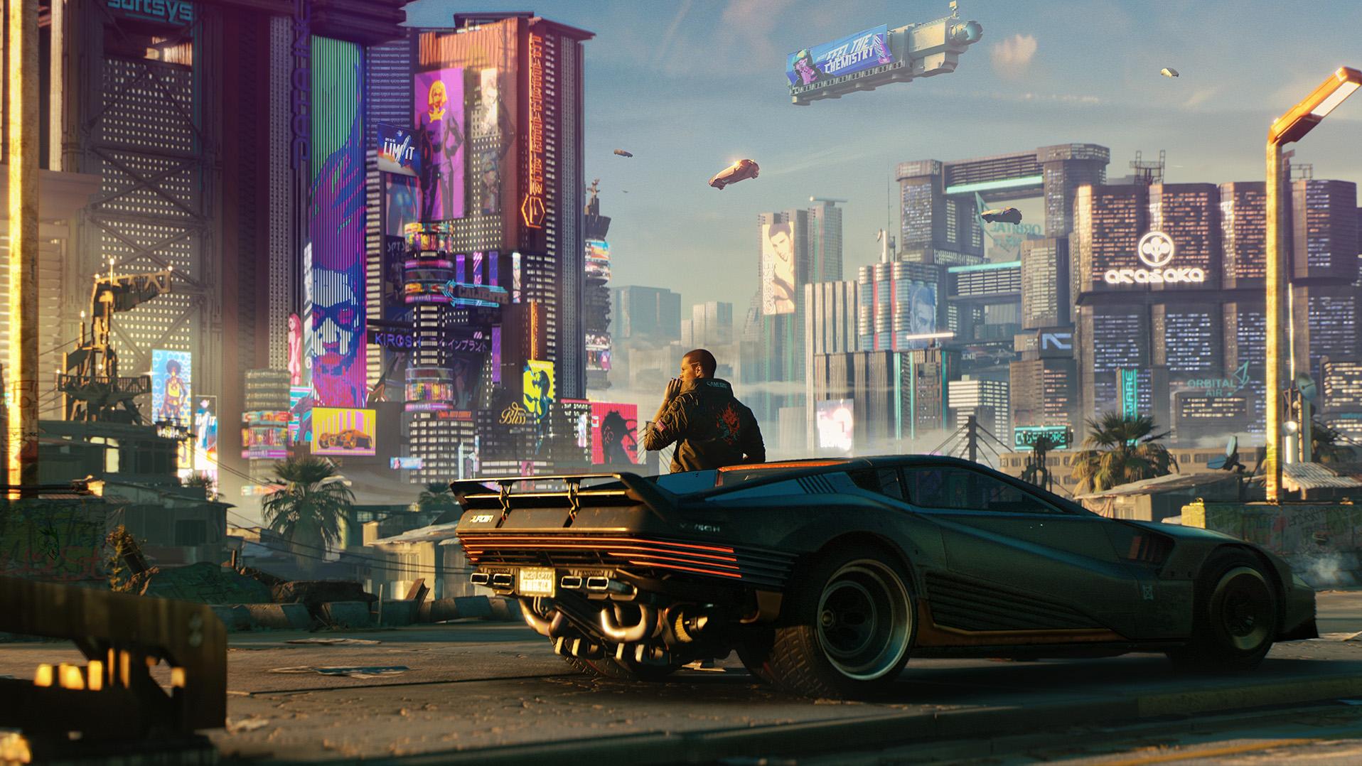 Cyberpunk 2077 najładniejszą grą według Digital Foundry