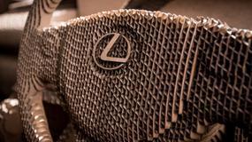 Lexus IS w wersji origami
