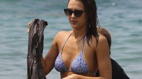 Jessica Alba w bikini. Zobaczcie oszałamiające ciało 34-latki!