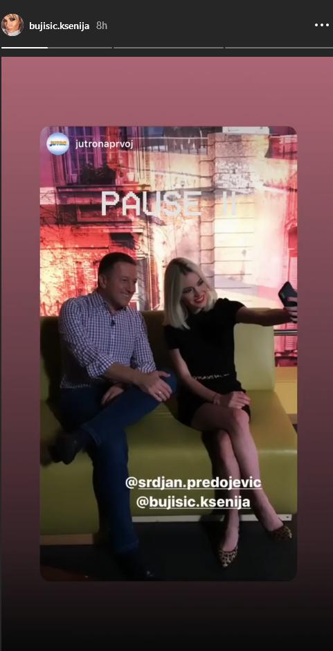 Ksenija Bujišić i Srđan Predojević