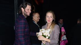 Natalia Klimas z narzeczonym na premierze w teatrze. Pięknie razem wyglądają