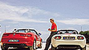 Alfa Romeo Spider, mazda mx-5 - Klasyczny duet