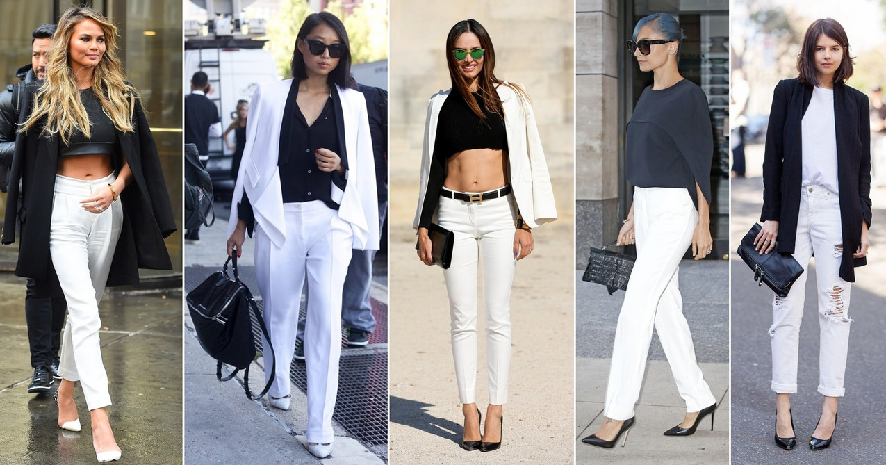 Jak Nosic Biale Spodnie Piec Swietnych Sposobow Moda