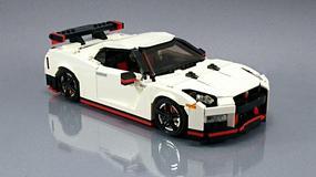 Nissan GT-R Nismo z klocków LEGO
