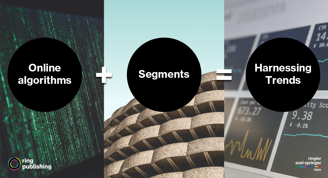 Online algorithm + Segments = Harnessing Trends