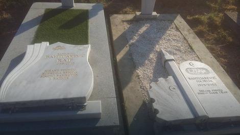 Oskrnavljeno groblje u Novom Pazaru