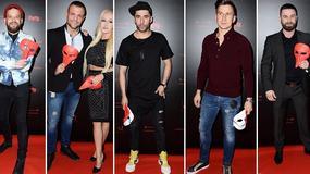 Przystojniacy na premierze sztuki Marcina Mrozińskiego. Który z nich wyglądał najlepiej?