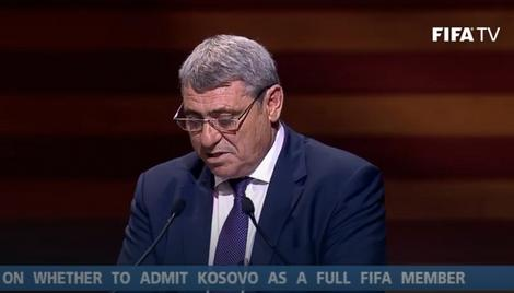 Obraćanje Fadilja Vokrija na Kongresu FIFA