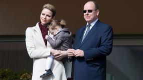 Księżna Charlene z córką Gabrielą