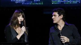 Wspólny występ Carli Bruni i Marca Lavoine