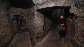 Elizeum w Warszawie - podziemna sala w parku na Książęcej - otwarte dla zwiedzających
