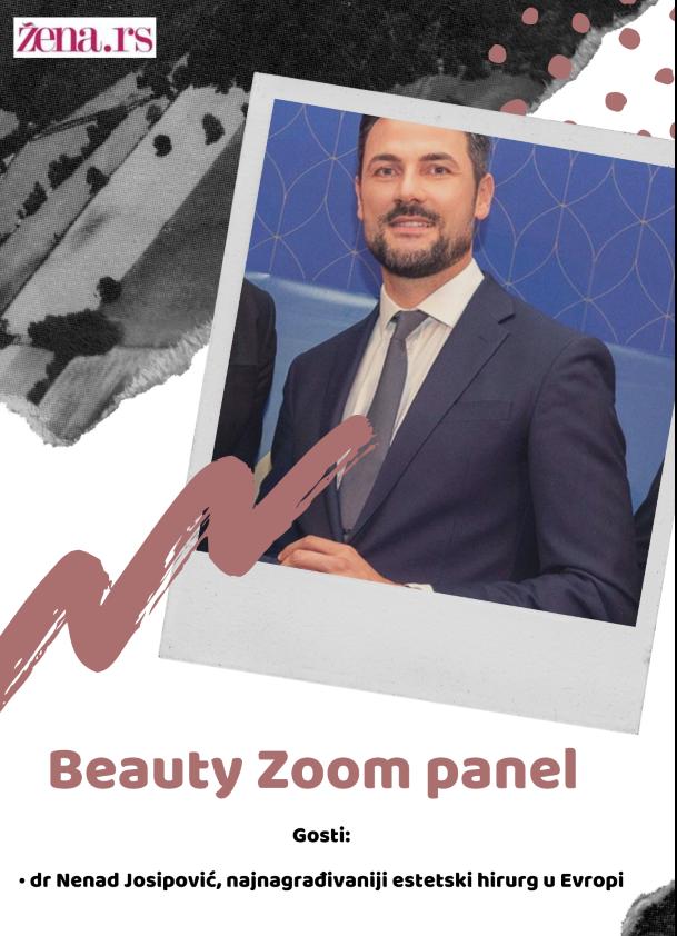 Doktor Josipović će biti glavni učesnik našeg Beauty Zoom panela