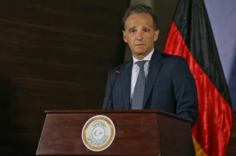 Germany's FM visits UAE to discuss Libya conflict, Israel ties