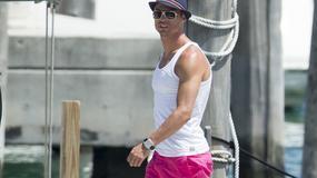 Ronaldo w różowych szortach. Sexy czy niemęsko?