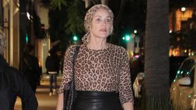 Sharon Stone w panterce!