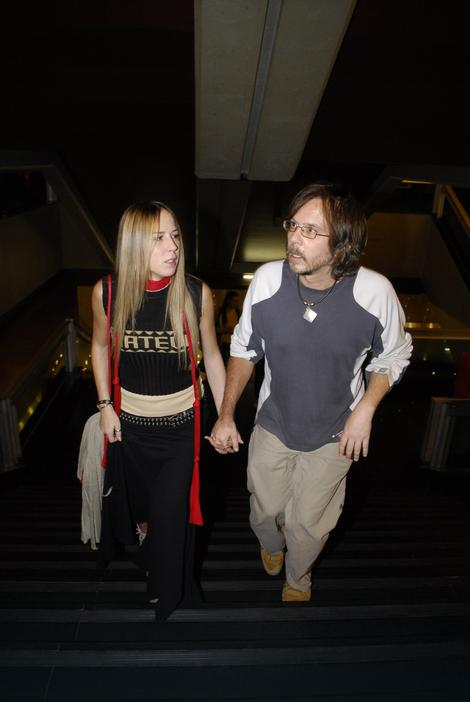 Srđan Žika Todorović sa suprugom Anom