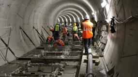 II linia metra: pierwsze torowisko gotowe