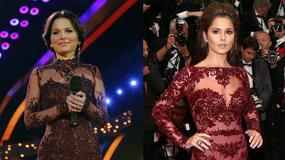 Paulina Sykut i Cheryl Cole w podobnej kreacji