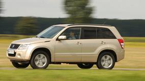 Suzuki Grand Vitara: SUV, co się terenu nie boi