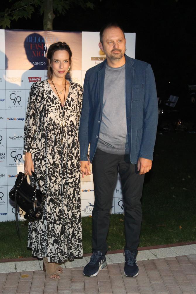 Milica Zarić sa suprugom