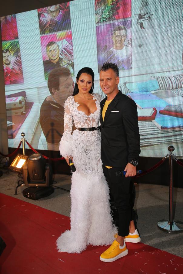 Tamara Đurić i Milan Milošević