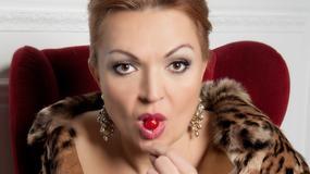 Małgorzata Walewska w świątecznej scenerii