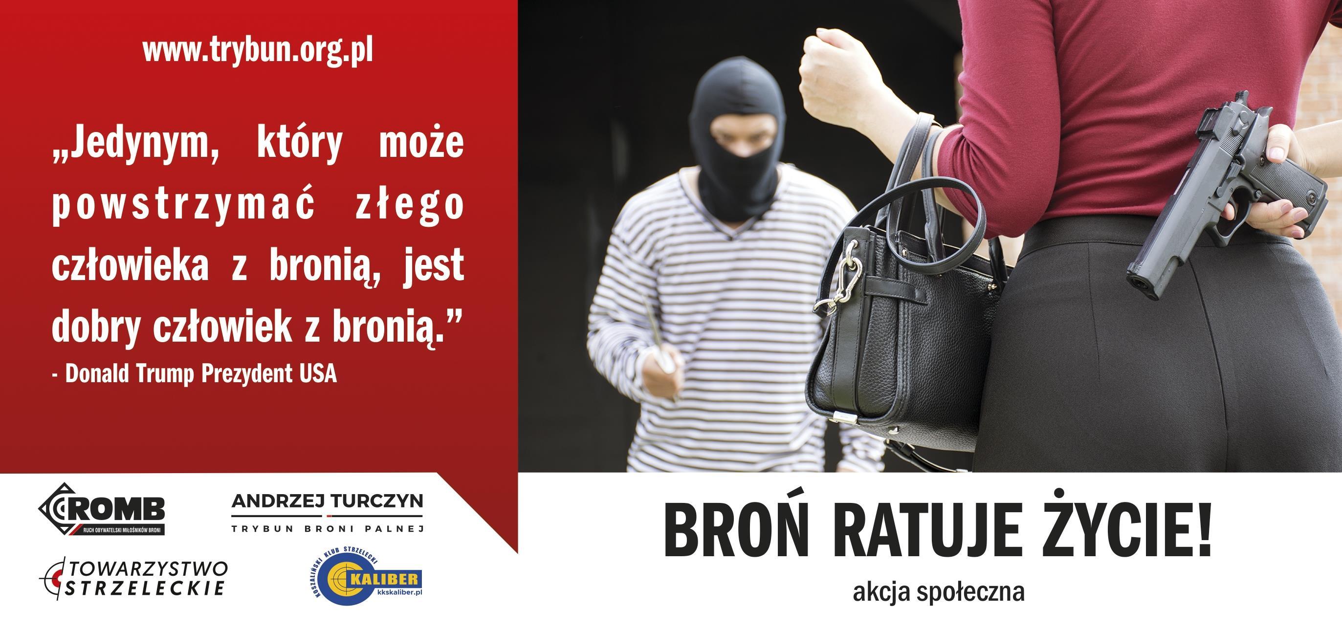 Akcja Zachęcająca Polaków Do Posiadania Broni Wykorzystali