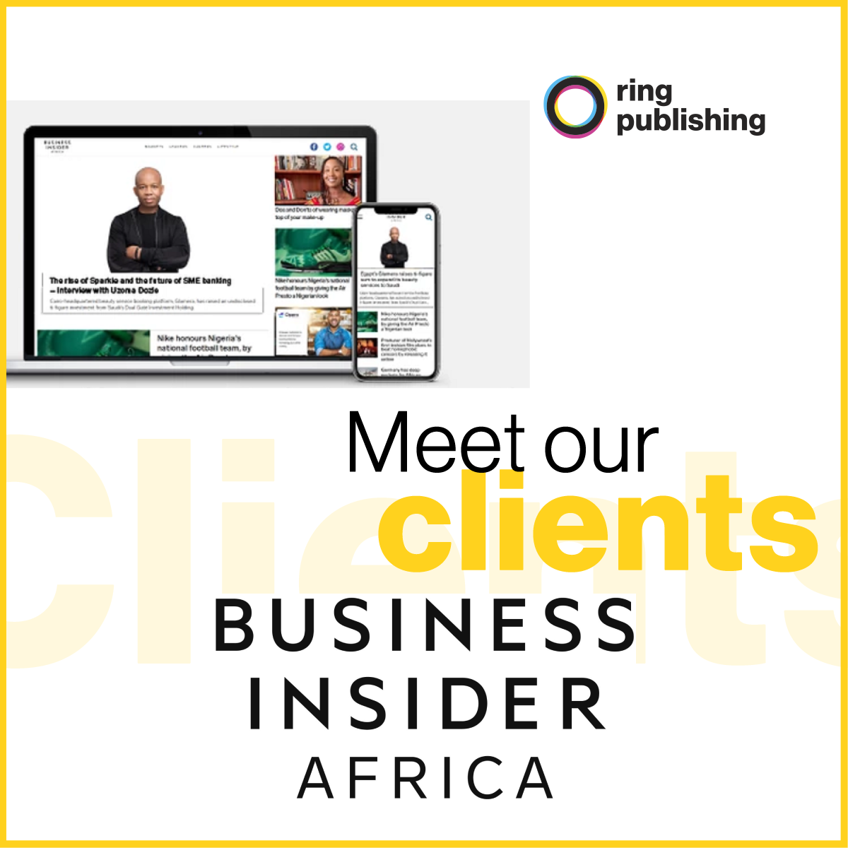 Meet our clients BIA