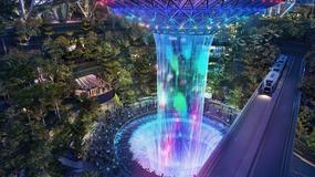 Tropikalny ogród i największy kryty wodospad. Takie atrakcje czekają pasażerów na lotnisku w Singapurze