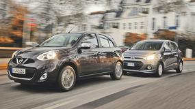 Porównanie | Nissan Micra 1.2 kontra Hyundai i10 1.0