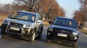 Hyundai Tucson kontra Kia Sportage II: znajdź trzy różnice