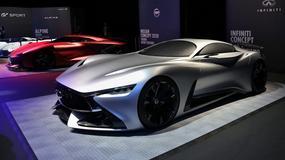 Infiniti Concept Vision w grze Gran Turismo Sport