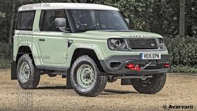 Land Rover Defender jako hybryda