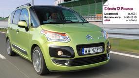 Citroën C3 Picasso - mały van to małe wydatki