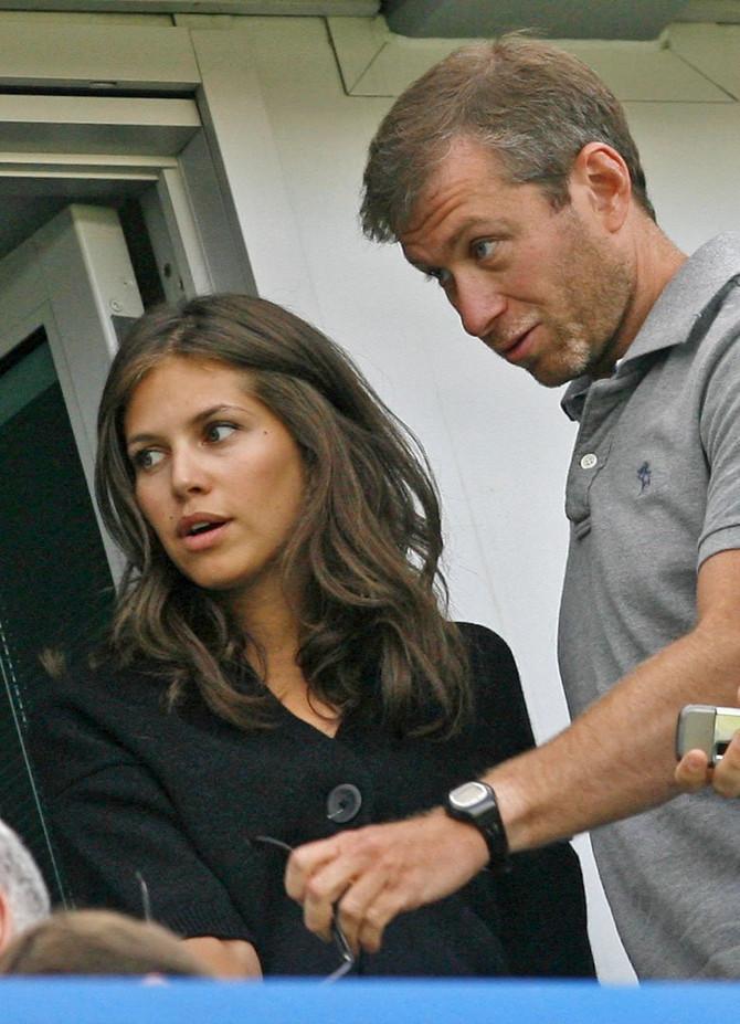 Daša Žukova sa bivšim suprugom