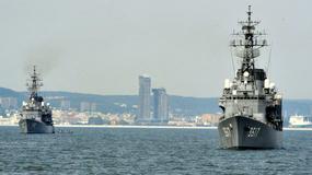 Japońskie okręty w Gdyni
