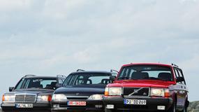 Mercedes W124,Opel Omega i Volvo 240: kombi marzeń sprzed lat!