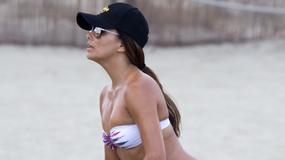 Eva Longoria w skąpym bikini. Ależ ona ma figurę