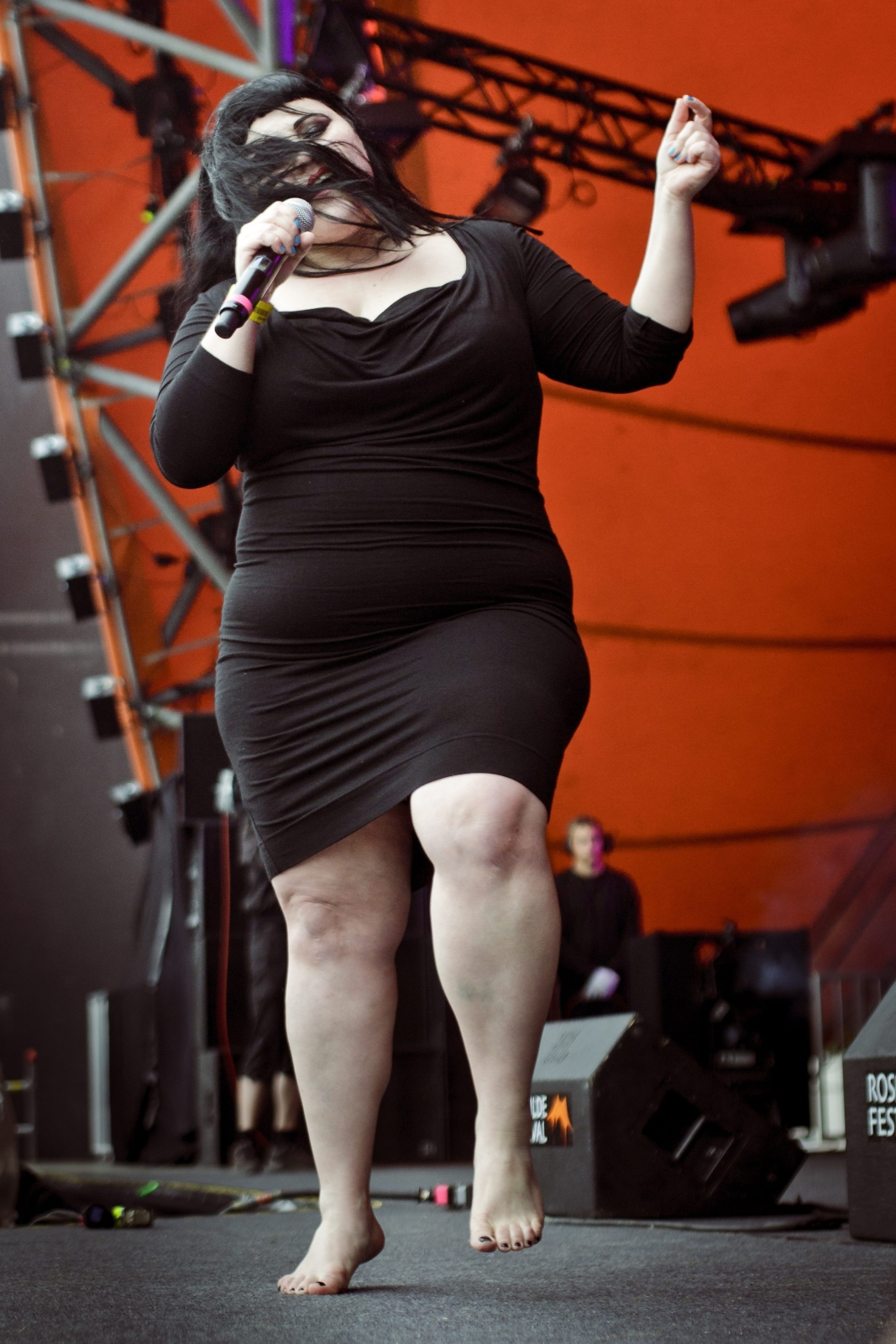 Beth Ditto i Gossip na Roskilde Festival